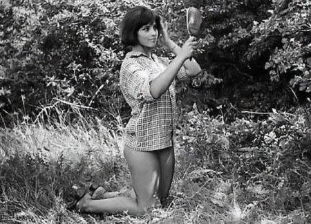 Наталья Варлей фото на съемках «Кавказкой пленницы»