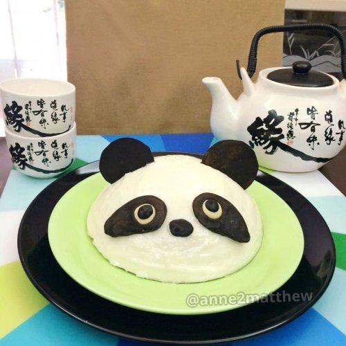Дизайн блюд, вдохновлённый пандами (19 фото)