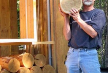 Необычный деревянный пол (10 фото)
